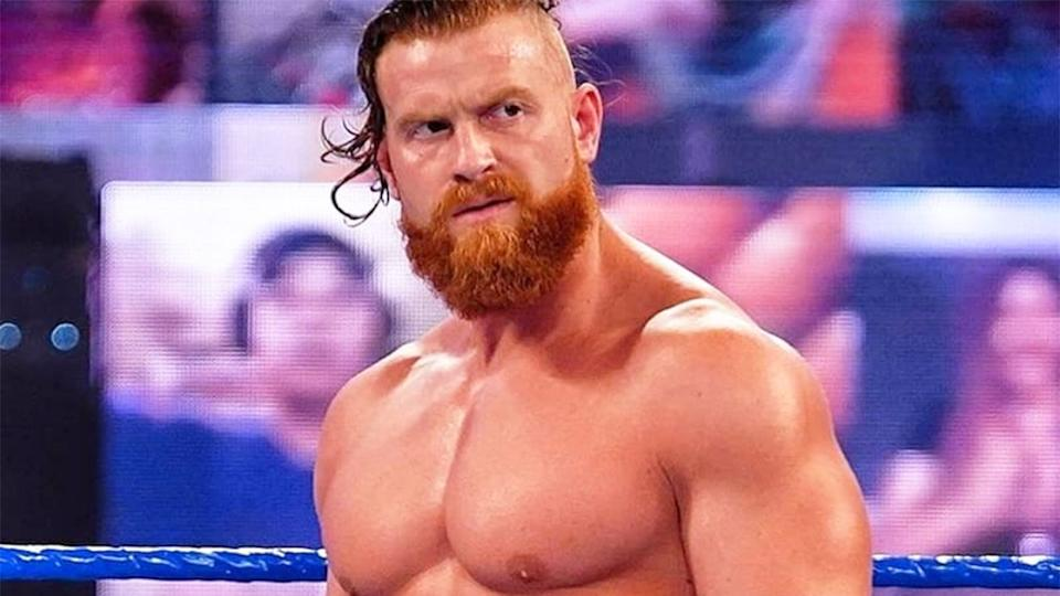 Buddy Murphy took to social media to celebrate his non-compete deal with the WWE expiring. Pic: Instagram