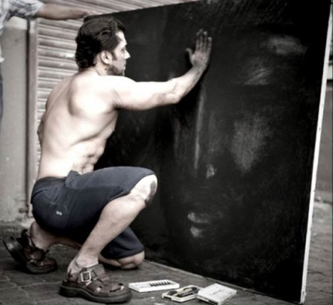 Salman Khan: He is an amazing painter. He loves to paint and has sold some of his paintings to raise money for charity.