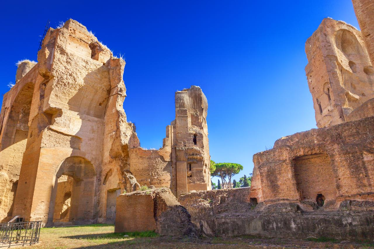 While tourists may typically head straight to the Colosseum, this site is home to some of the most well-preserved building from ancient Roman times. [Photo: Getty]