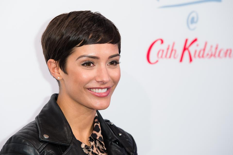 Frankie Bridge, pictured here in 2018, is often candid about her family life on social media. (Getty Images)