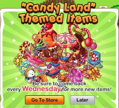 SPP! Ranch Candy Land Items