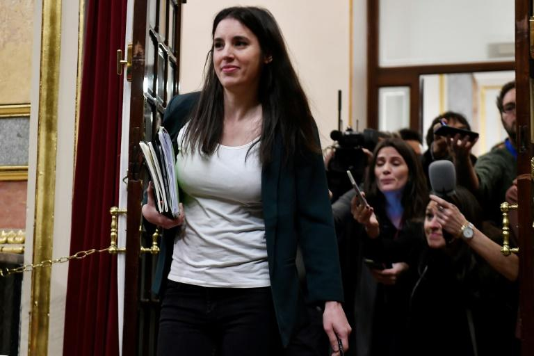 Equality minister Irene Montero's rape bill has caused tensions within the leftwing coalition