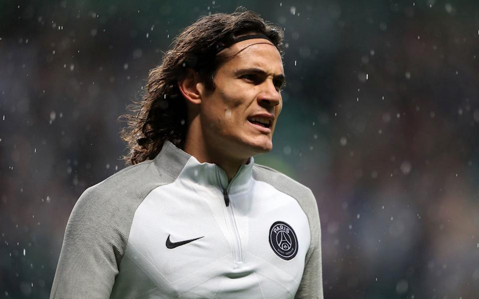 Edinson Cavani at PSG - PA