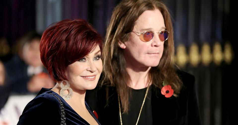 Sharon Osbourne has spoken about husband Ozzy's tough recovery (Getty)