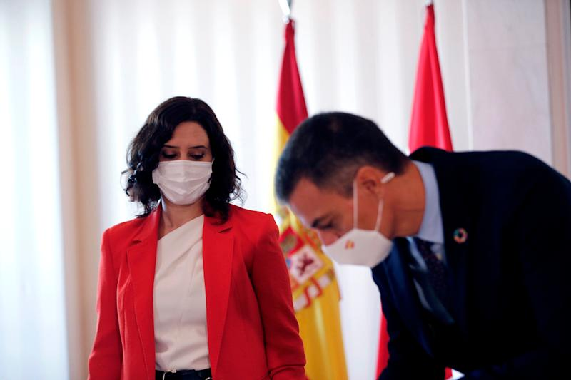 Sánchez y Ayuso (Photo: EFE)