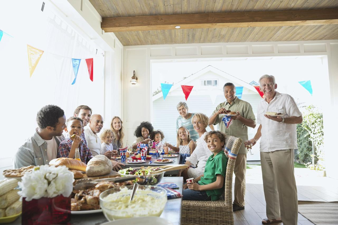 """<p>If you're hosting a <a href=""""https://www.womansday.com/4th-of-july/"""" target=""""_blank"""">4th of July</a>  party, you might be feeling overwhelmed because, let's be honest, planning a party can be a lot. Not only do you have to come up with <a href=""""https://www.womansday.com/life/g27508579/outdoor-games-for-adults/"""" target=""""_blank"""">activities</a> to keep your guests entertained, but you have to plan and <a href=""""https://www.womansday.com/food-recipes/food-drinks/g3008/4th-of-july-menu/"""" target=""""_blank"""">prepare a menu</a> that everyone will like, <a href=""""https://www.womansday.com/home/decorating/g2441/fourth-of-july-decorations/"""" target=""""_blank"""">decorate your patio</a>, <em>and</em> provide the <a href=""""https://www.womansday.com/food-recipes/food-drinks/recipes/g2442/4th-of-july-drinks/"""" target=""""_blank"""">drinks</a>. <br> <br>But there's no need to back out of hosting duties. These 4th of July party ideas can help you plan a successful event, whether you're doing something low-key with your family or hosting the neighborhood block party. And no matter how small or big the party, you don't have to break the bank. If you really want to cut down on costs, get your guests to pitch in and provide somee food or entertainment.<br><br>Now that you're ready to tackle your party planning, this list will give you some inspiration on 4th of July recipes, <a href=""""https://www.womansday.com/life/g3009/4th-of-july-activities/"""" target=""""_blank"""">family activities</a>, and homemade decorations. <br> </p>"""