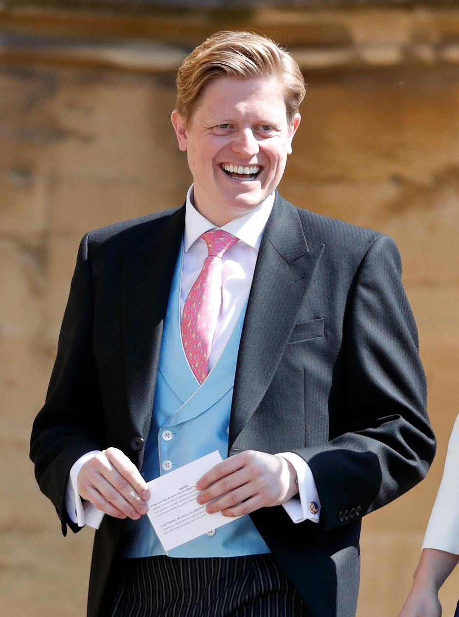 WINDSOR, UNITED KINGDOM - MAY 19: (EMBARGOED FOR PUBLICATION IN UK NEWSPAPERS UNTIL 24 HOURS AFTER CREATE DATE AND TIME) James Holt (Communications Officer to Prince Harry) attends the wedding of Prince Harry to Ms Meghan Markle at St George's Chapel, Windsor Castle on May 19, 2018 in Windsor, England. Prince Henry Charles Albert David of Wales marries Ms. Meghan Markle in a service at St George's Chapel inside the grounds of Windsor Castle. Among the guests were 2200 members of the public, the royal family and Ms. Markle's Mother Doria Ragland. (Photo by Max Mumby/Indigo/Getty Images)