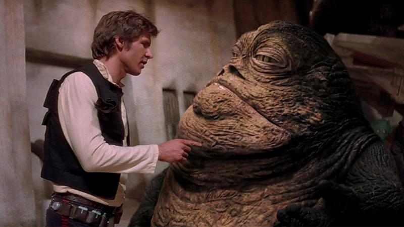 Jabba reintroduced in the 'Star Wars' special edition. We know, we know... (credit: Lucasfilm)