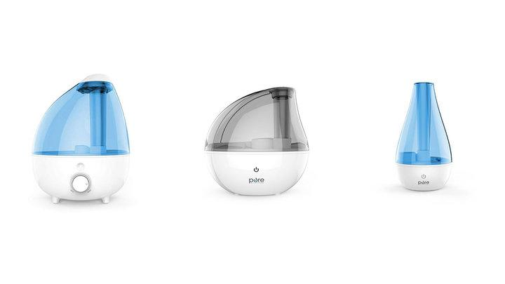 From left to right:the gallon-size extra-large model, the silver model and the small portable model. All are part of Amazon's Daily Deal for Thursday. (Photo: Amazon)