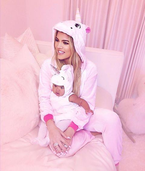 "<p>Khloe went big for True's first Halloween. Of all of their costumes, this twinning unicorn moment is the cutest.</p><p><a href=""https://www.instagram.com/p/BpmoKuDgGZP/"" rel=""nofollow noopener"" target=""_blank"" data-ylk=""slk:See the original post on Instagram"" class=""link rapid-noclick-resp"">See the original post on Instagram</a></p>"