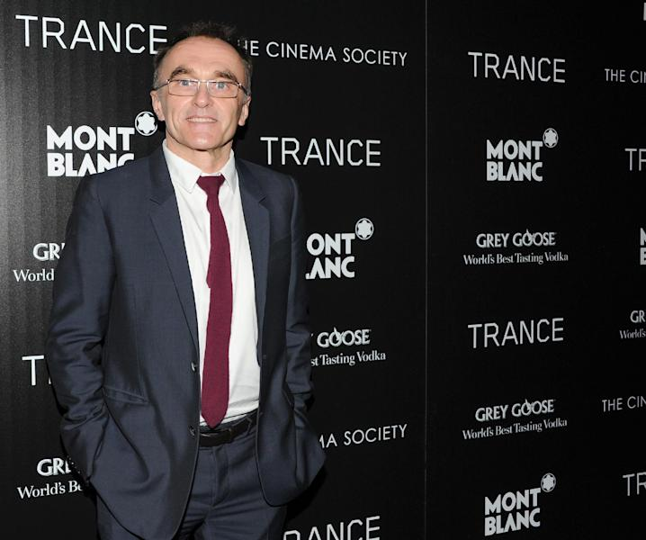 "FILE - In this April 2, 2013 file photo, Director Danny Boyle attends Fox Searchlight Pictures' premiere of ""Trance,"" hosted by The Cinema Society with Montblanc, at the SVA Theater, in New York. ""Trance"" opened in the U.K. on March 27 and in the U.S. for a limited release from April 5. (Photo by Evan Agostini/Invision/AP, File)"