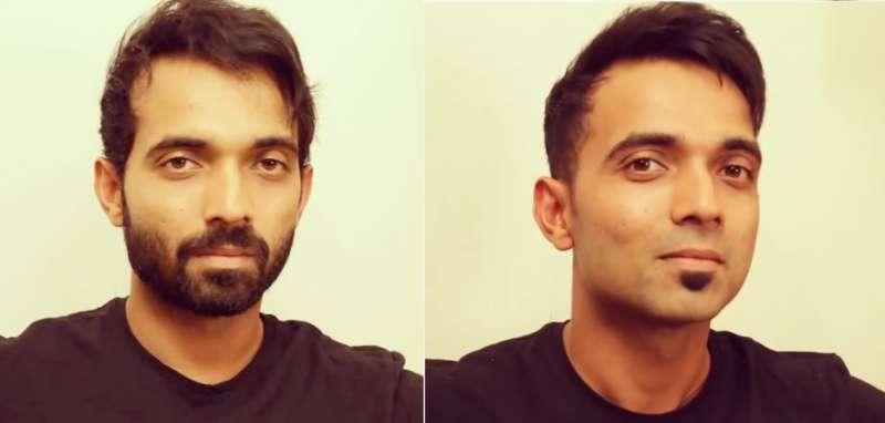 Ajinkya Rahane Break the beard