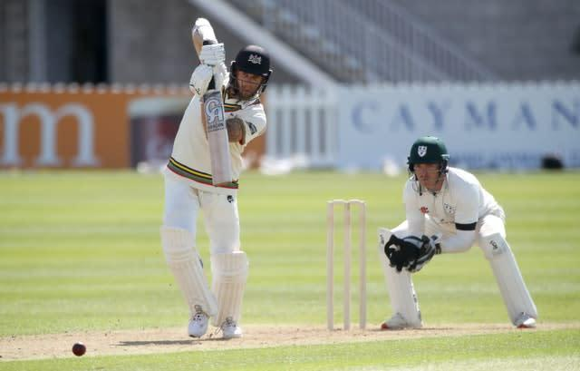Gloucestershire's Chris Dent was eight short of a century against Worcestershire in the Bob Willis Trophy (Nick Potts/PA)