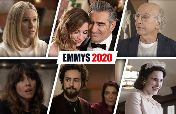 Emmy Nomination Predictions in Comedy: 'Schitt's Creek' and 'The Good Place' Look for Happy Endings