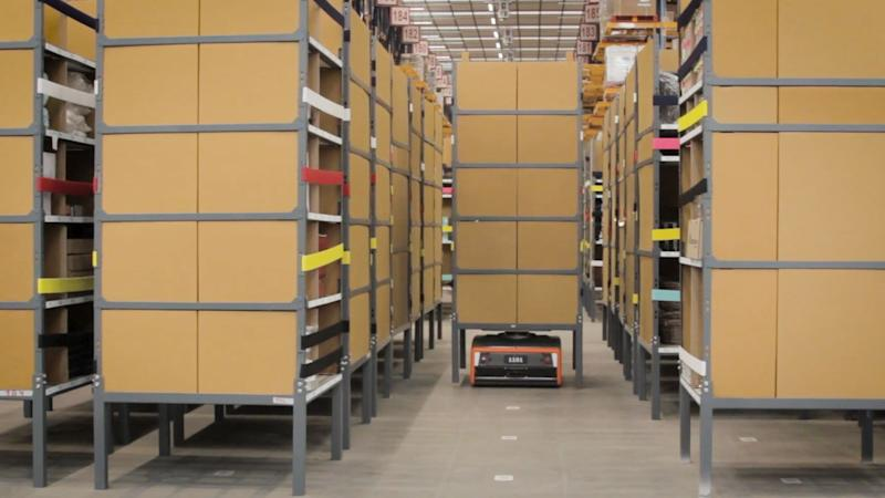 GreyOrange makes warehouse robots named Pickpal and The Butler to