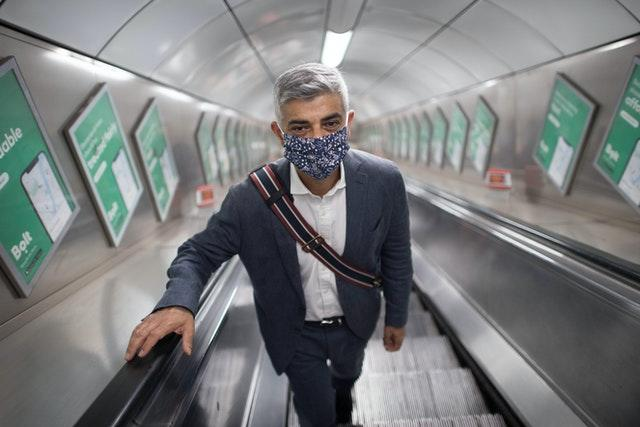 Sadiq Khan visits West End