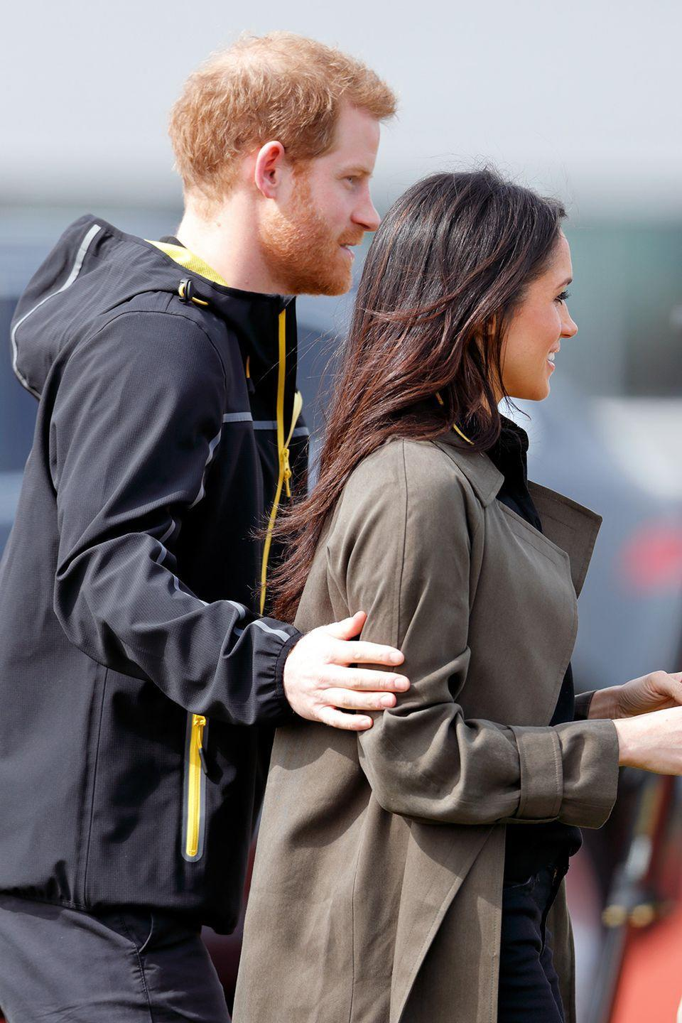 <p>The Duke and Duchess of Sussex will briefly go their separate ways.</p>