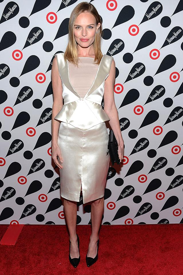 NEW YORK, NY - NOVEMBER 28:  Kate Bosworth attends the Target   Neiman Marcus Holiday Collection launch event on November 28, 2012 in New York City.  (Photo by Dimitrios Kambouris/WireImage)