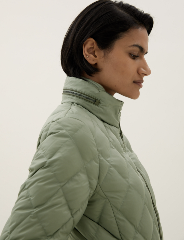 Its concealed hood is just what we need to see us through the winter. (Marks & Spencer)