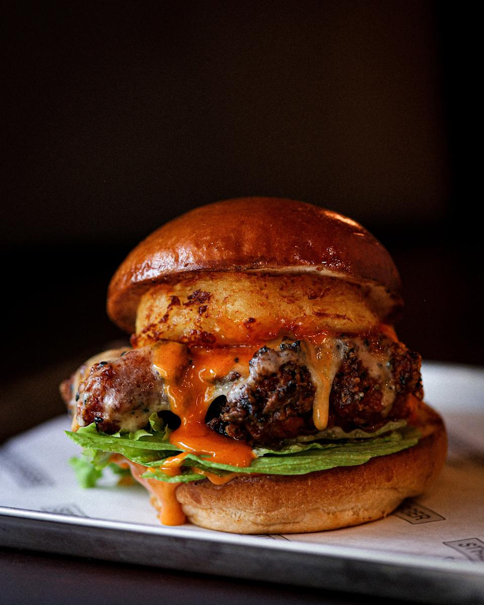 <p>The restaurants will offer a burger, fries and unlimited soft drink for £15</p>STREET BURGER