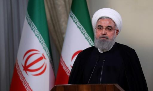"President Hassan Rouhani said Iran could resume uranium enrichment ""without limit"" in response to Trump's announcement"