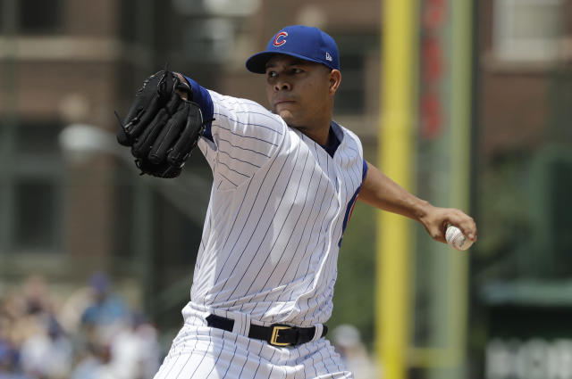 "Are you in or out on <a class=""link rapid-noclick-resp"" href=""/mlb/players/9176/"" data-ylk=""slk:Jose Quintana"">Jose Quintana</a> this year? (AP Photo/Nam Y. Huh)"