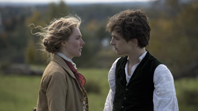 Saoirse Ronan and Timothee Chalamet reunite in first trailer for Little Women