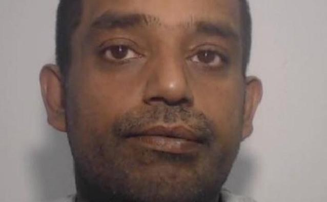 Mohammed Faisal Ubaid, 44, was sentenced to 14 years and two months in prison for the manslaughter of John Rimmer.(Greater Manchester Police)
