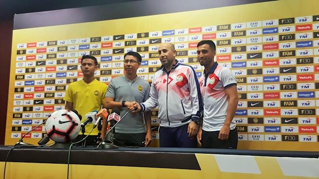 Tajikistan will play Malaysia in a friendly on Saturday, before taking on Myanmar in their World Cup qualification encounter on Thursday next week.