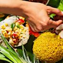 <p>The Spanish introduced the cultivation of corn to the Filipino island of Cebu in the 1700s. This propelled the vegetable to staple status not just in that province, but throughout the country. Yana Gilbuena features this dish in her pop-up kamayan dinners showcasing her culture's cuisine.</p>