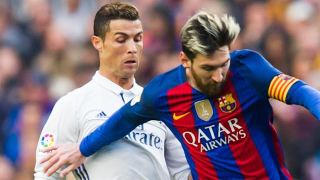 Sergio Ramos jokes Lionel Messi and Cristiano Ronaldo should have their own prize, to allow everyone else a chance of Ballon d'Or glory.