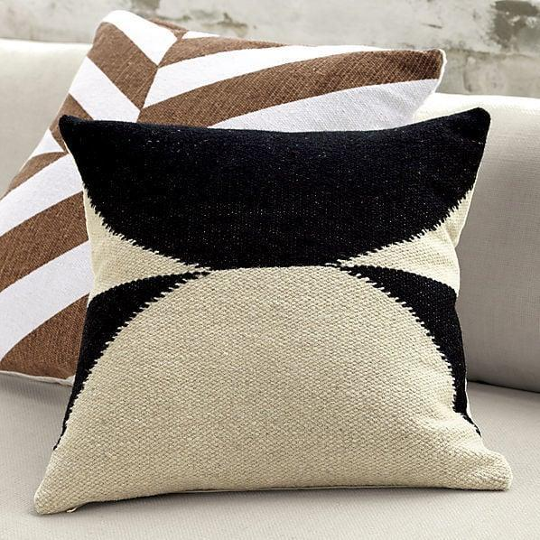 <p>Their sofa will have a chic bohemian touch with the <span>Reflect Pillow With Feather Insert</span> ($80).</p>