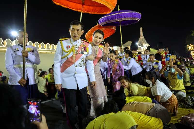 Ceremony to commemorate the death of King Chulalongkorn, known as King Rama V, at The Grand Palace in Bangkok