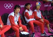 """A perfectly placed Olympic logo creates goggles on a Japanese athlete. (Courtesy <a href=""""http://www.buzzfeed.com/mjs538/it-finally-happened"""" rel=""""nofollow noopener"""" target=""""_blank"""" data-ylk=""""slk:BuzzFeed"""" class=""""link rapid-noclick-resp"""">BuzzFeed</a>/<a href=""""https://twitter.com/AlsBoy"""" rel=""""nofollow noopener"""" target=""""_blank"""" data-ylk=""""slk:@AlsBoy"""" class=""""link rapid-noclick-resp"""">@AlsBoy</a>)"""