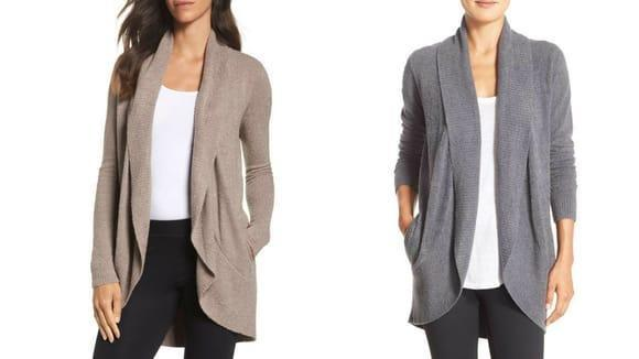 Best gifts for mom: Barefoot Dreams CozyChic Circle Cardigan