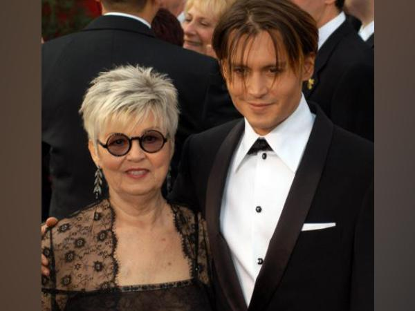 Old picture of Johnny Depp with mother Betty Sue Palmer (Image source: Instagram)