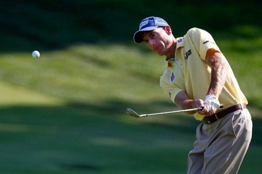 Jim Furyk on Thursday fired a seven-under-par 63 to put him three ahead of a group of six players