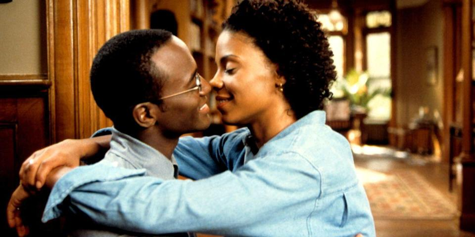"<p>Grab a plus-one for Malcolm D. Lee's wedding drama starring Taye Diggs, Sanaa Lathan, and Morris Chestnut. Precluding the walk down the aisle, the film works between timelines to reveal the secrets, hookups and friendship fractures plaguing Harper (Diggs) and his pals. But, oh, the chemistry between Lathan and Diggs. <a class=""link rapid-noclick-resp"" href=""https://www.amazon.com/Best-Man-Taye-Diggs/dp/B001VM6Z1O/?tag=syn-yahoo-20&ascsubtag=%5Bartid%7C10056.g.6498%5Bsrc%7Cyahoo-us"" rel=""nofollow noopener"" target=""_blank"" data-ylk=""slk:Watch Now"">Watch Now</a></p>"