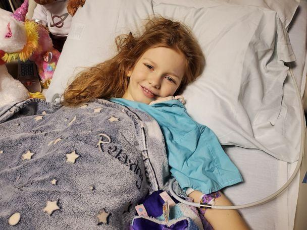 On Jan. 28, 2020, Ellie Pruitt, 8, of Woodstock, Georgia, suddenly became sick at school. Tests later revealed she had autoimmune diseases, including Lupus, which were attacking her blood cells. Ellie died Feb. 6, 2020. (Children's Healthcare of Atlanta)