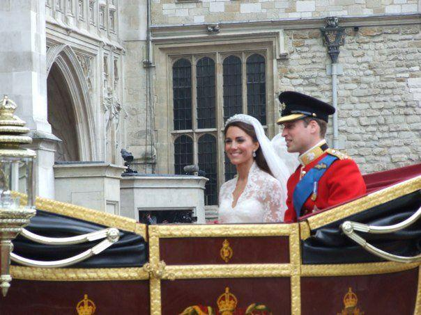 <p>Captured by Anita Atkinson who spent three nights camping outside Westminster Abbey in preparation for the 2011 Royal Wedding. The shots certainly prove the good seat she ended up having.</p>