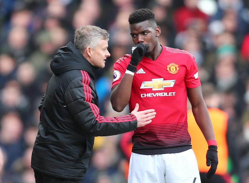Ole Gunnar Solskjaer and Paul Pogba are both key figures at Manchester United (Credit: Getty Images)