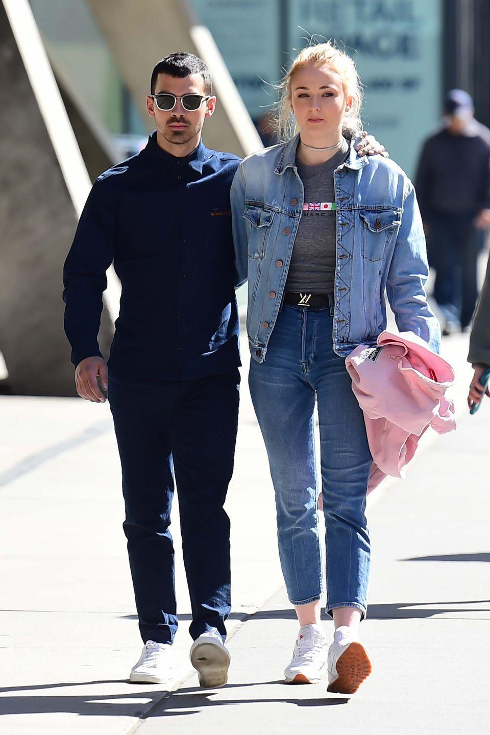 <p>Sophie was first spotted with Joe Jonas in late November 2016. In October 2017, Turner announced her engagement to Joe on Instagram. </p>