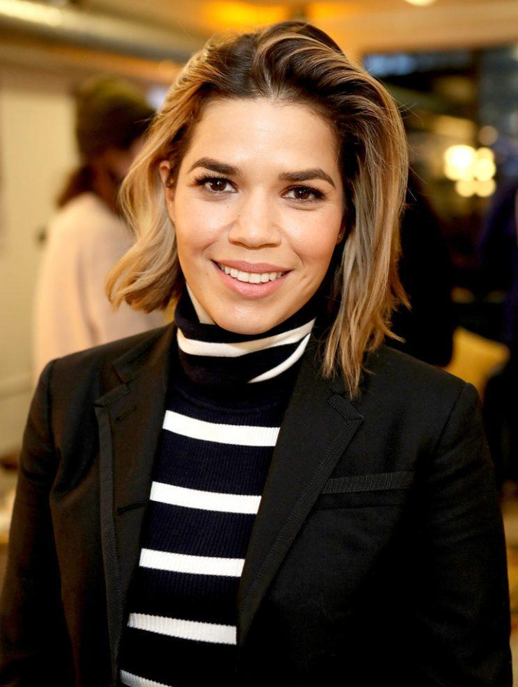America Ferrera was sure-footed and shining bright at the 2017 Sundance Film Festival. (Photo: Randy Shropshire/Getty Images for AT&T)