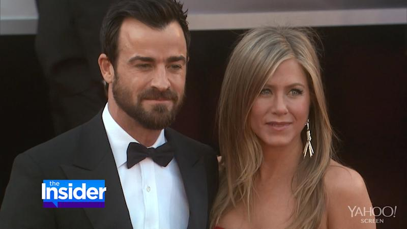 How Jennifer Aniston and Justin Theroux Spent Her 45th Birthday