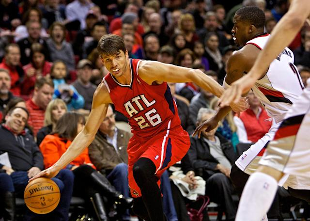 Kyle Korver's record streak of consecutive games with a 3 ends at 127