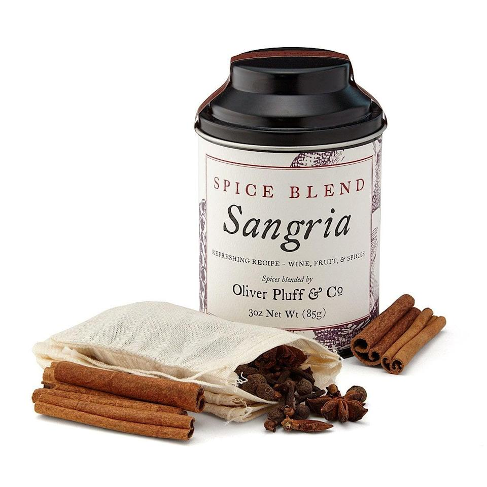 <p>This <span>Sangria Spice Blend</span> ($20) will liven up your parties.</p>