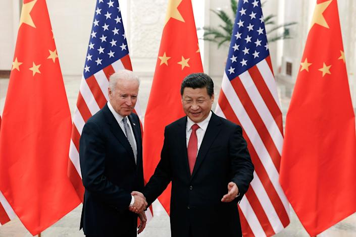 In the coming four years, the Biden administration will have to grapple with geopolitical challenges of Russia and China2013 Getty Images