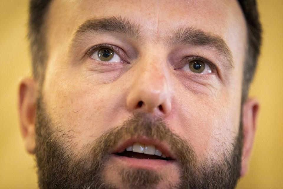 SDLP leader Colum Eastwood has called for vaccine passports to be introduced for entry into hospitality settings in Northern Ireland (Liam McBurney/PA) (PA Wire)