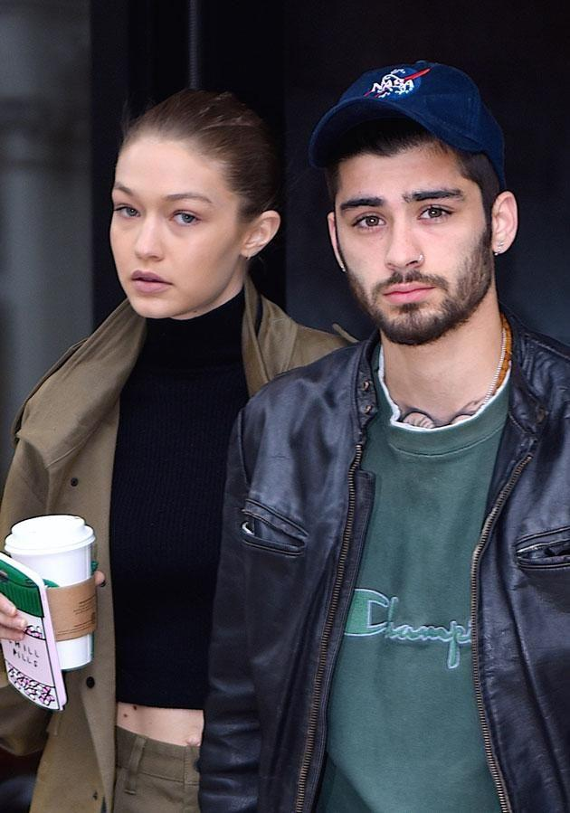Zayn, who is dating model Gigi Hadid, revealed he and Harry were never close. Source: Getty