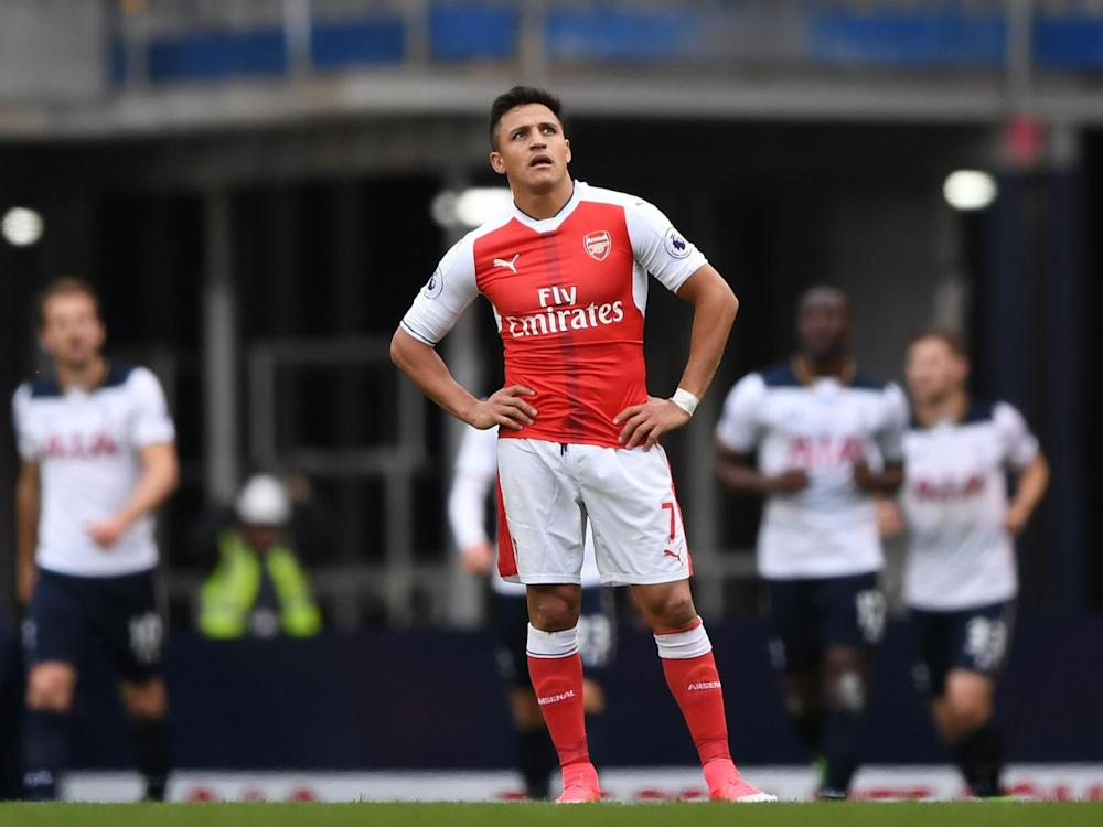 Arsenal head into Sunday's clash on the back of defeat at Tottenham (Getty)